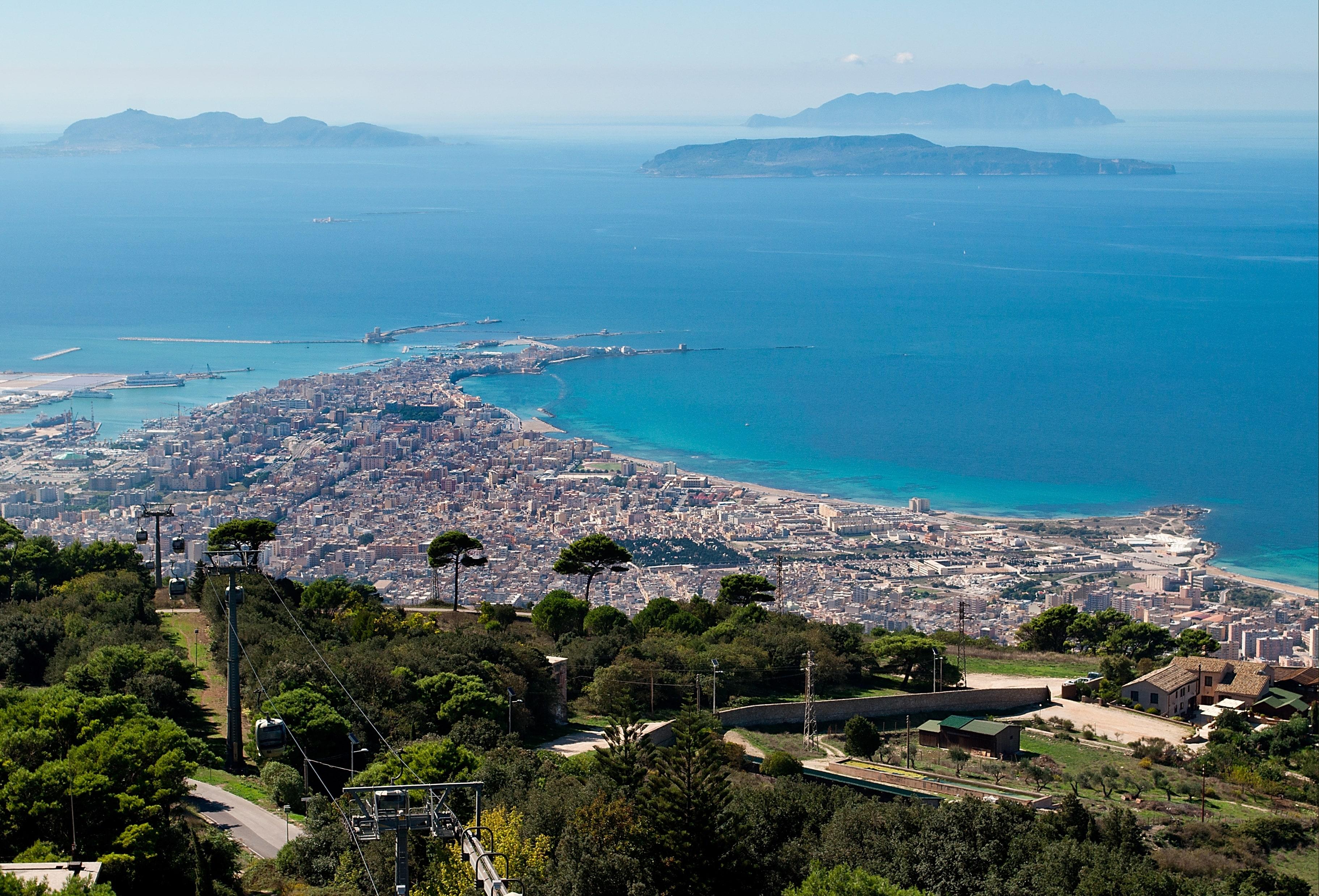 TOUR DELLA SICILIA DA CATANIA CON ESTENSIONE ALLE ISOLE EGADI